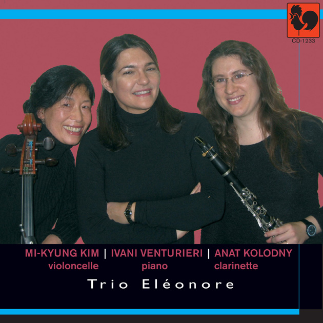 CD Jacket for 'TRIO ELEONORE'